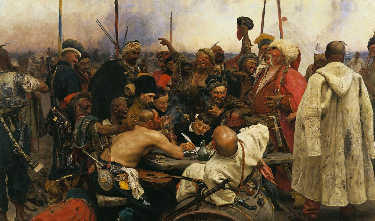 Repin Cossacks e
