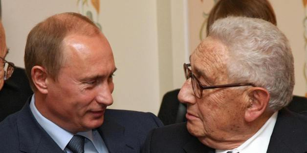 Kissinger meets Putin februari 2016