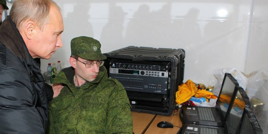 Information operation Army Russia