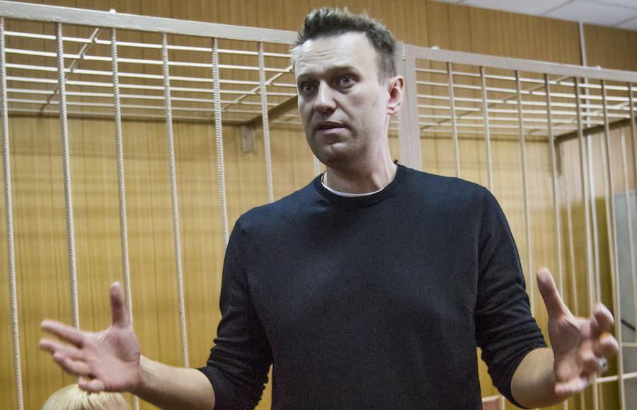 Navalny in cel voor 15 dagen