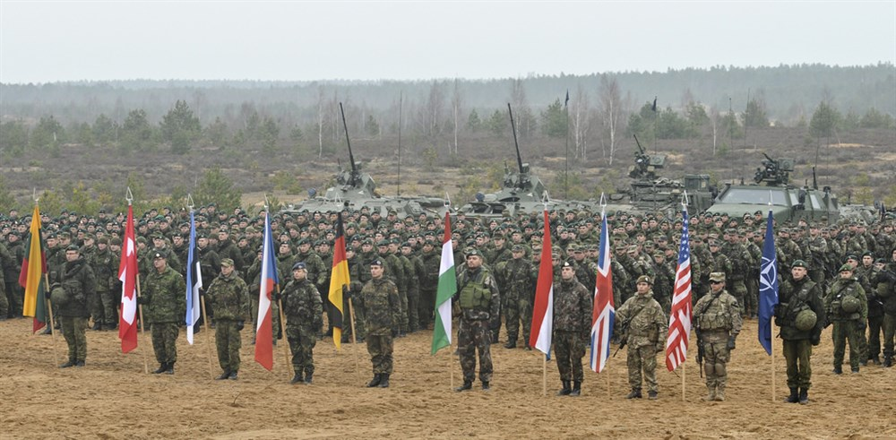 Exercise NATO in Lithuania