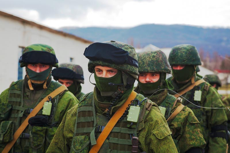 Groene mannetjes op de Krim