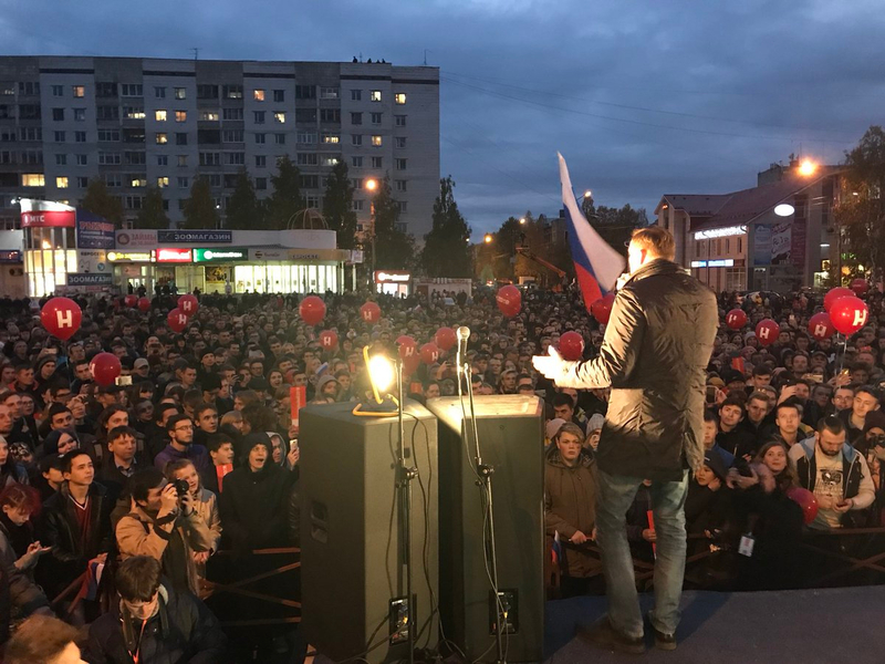 navalny in orenburg sept 2017